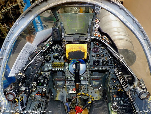 Harrier Cockpit
