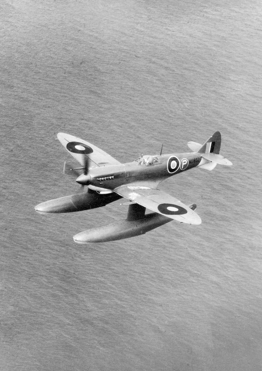 Spitfire IX on floats