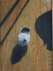 子猫 kitten ペット肖像画 動物絵画