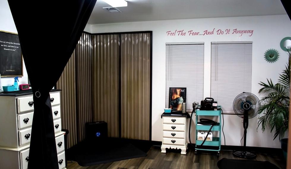 Spray Tan Room
