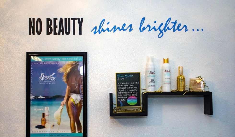 """All natural, water-based Brazil Bronze products exclusively from NYC! Vogue calls it, """"The Perfect Tan."""""""