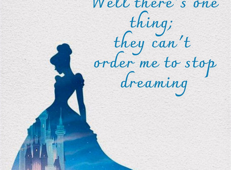 How Cinderella inspired me to manifest my dreams