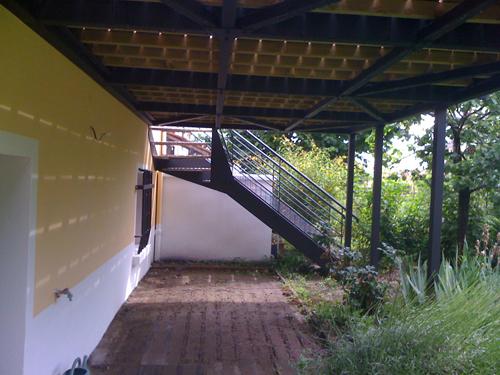 Terrasse & abricôts...