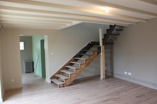 Escalier réhabilité