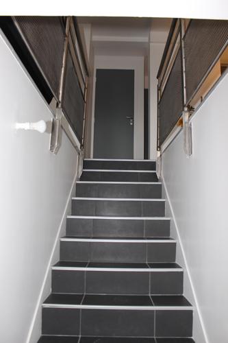 Escalier réhabillé