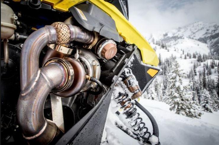 Ski-Doo G4 850 Silber Turbo