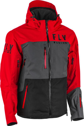 Carbon Outerwear Red/Black/Grey