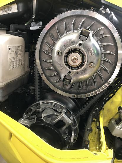 Skidoo 850 Factory Turbo Clutching