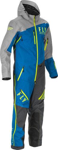 Cobalt Snowbike Monosuit Blue/Grey/Hi-Vis