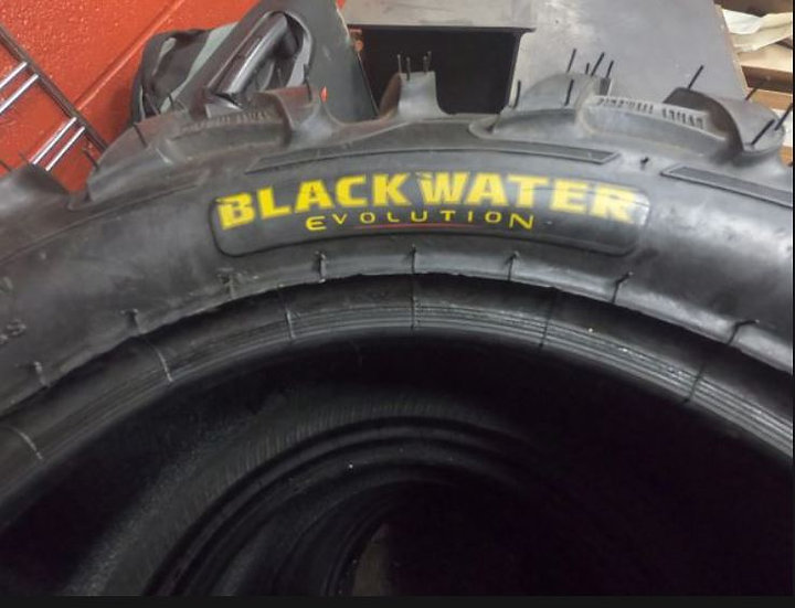 Black Water Evolution ITP Size: Front 27 X 9.00 R14 and Rear 27 X 11.00 R14