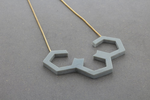 Large Hex Necklace