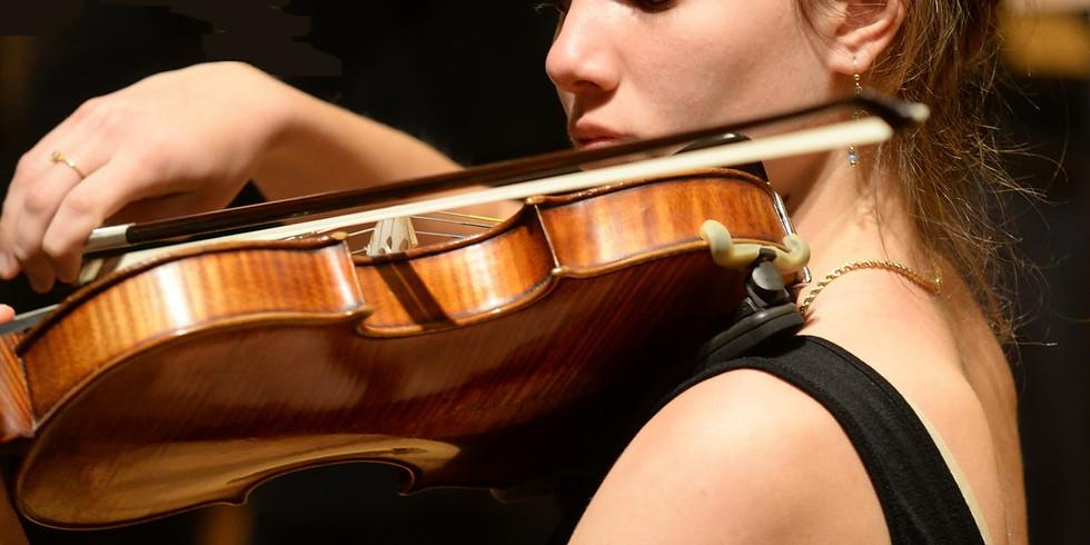 קסם הכינור - שירה ורן צמח בערב סונטות מופלאות