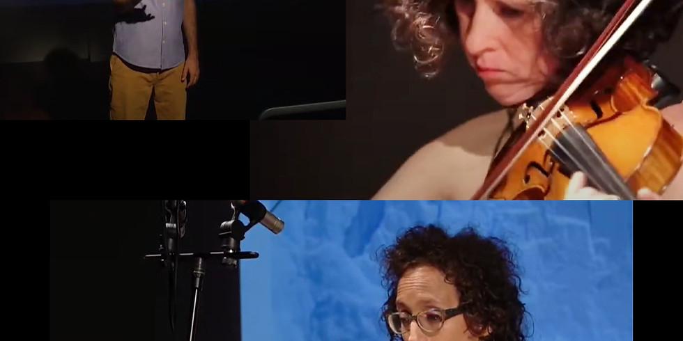 קונצרט 4 בסדרה של סולני אנסמבל המאה ה-21 לצפייה! אילן וולקוב מנצח, יעל ברולסקי כינור, דפנה יצחקי חליל
