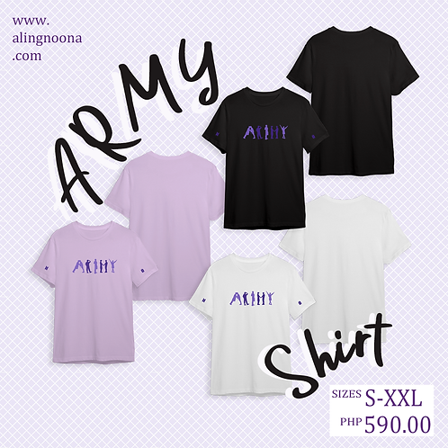 [ON-HAND] Aling Noona Round Neck T-Shirt