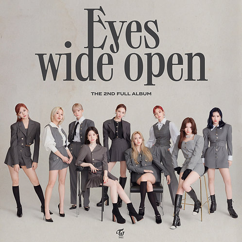[PRE-ORDER] TWICE  Eyes Wide Open album (Random Ver.)