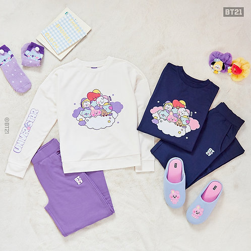 [PRE-ORDER] BT21 BABY Loungewear Set Dream of Baby
