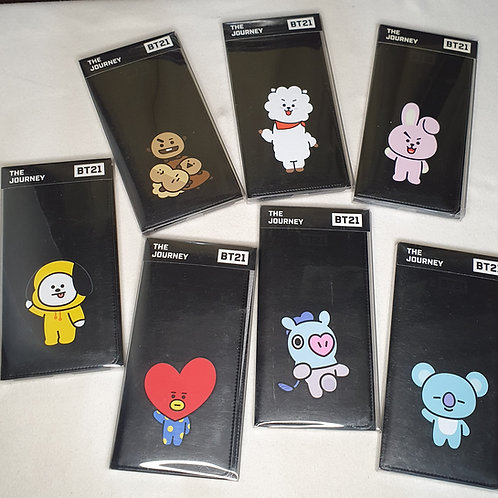 [ON-HAND] BT21 x Monopoly The Journey Travel Wallet