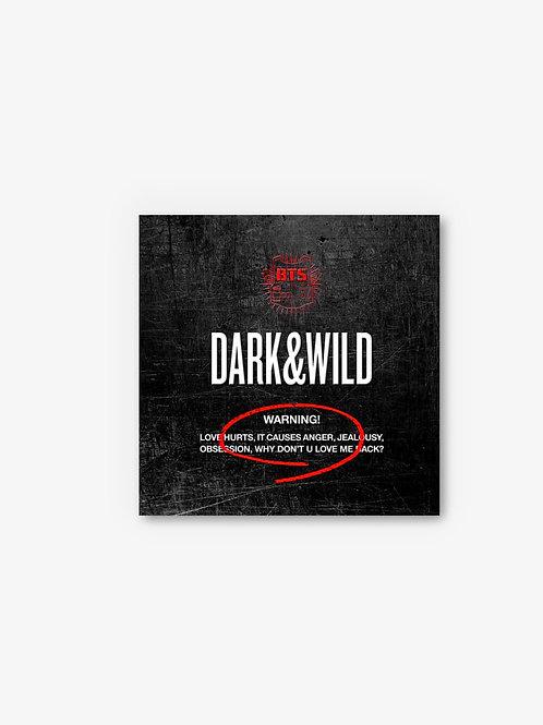 [PRE-ORDER] BTS 1st Album Dark & Wild