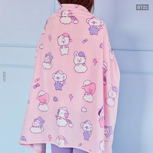 [PRE-ORDER] BT21 BABY Pattern Blanket Dream of Baby
