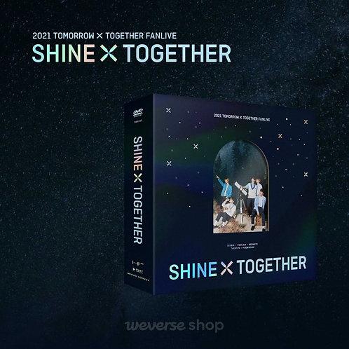 [PRE-ORDER] TXT Fanlive Shine X Together DVD