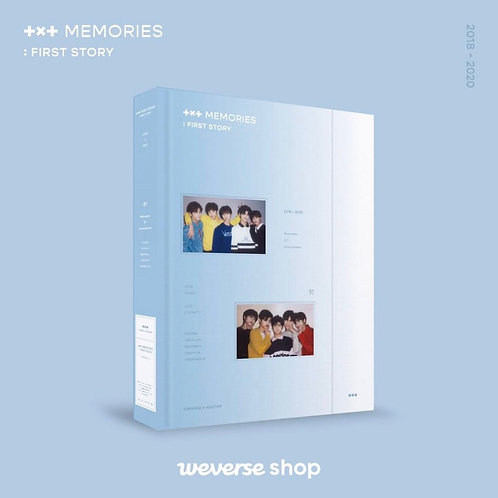 [PRE-ORDER] TXT Memories: First Story
