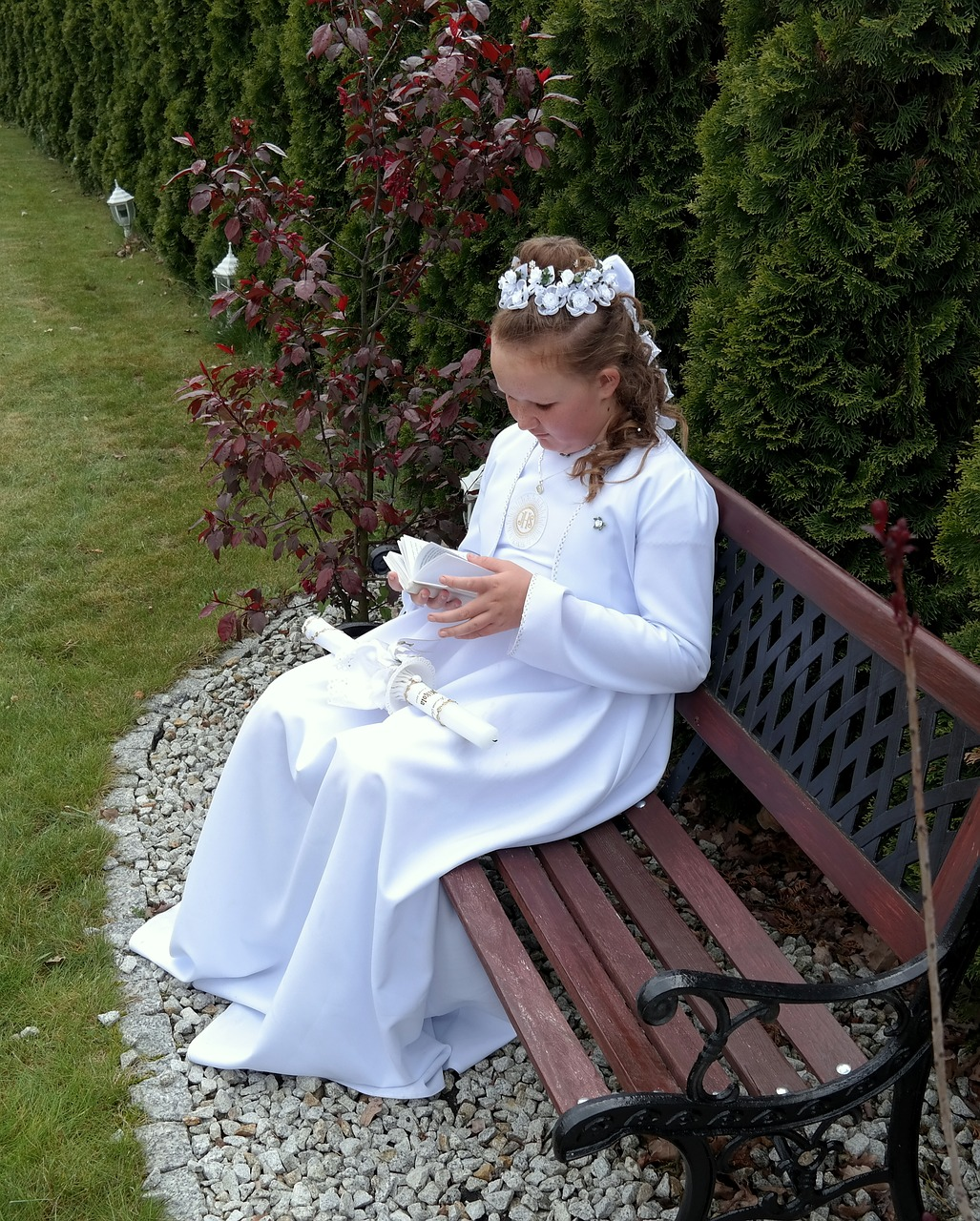 first-communion white dress