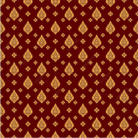 Thai Pattern Background Pattern Batik, T