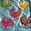 Thumbnail: Funky Hand-Painted Metal Roosters
