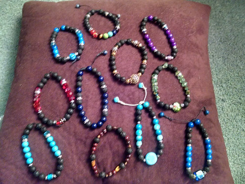 Made To Order Custom Essential Oil Diffuser Bracelets
