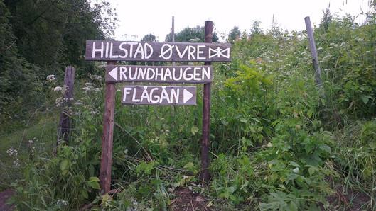 Hilstad Øvre - Turstier