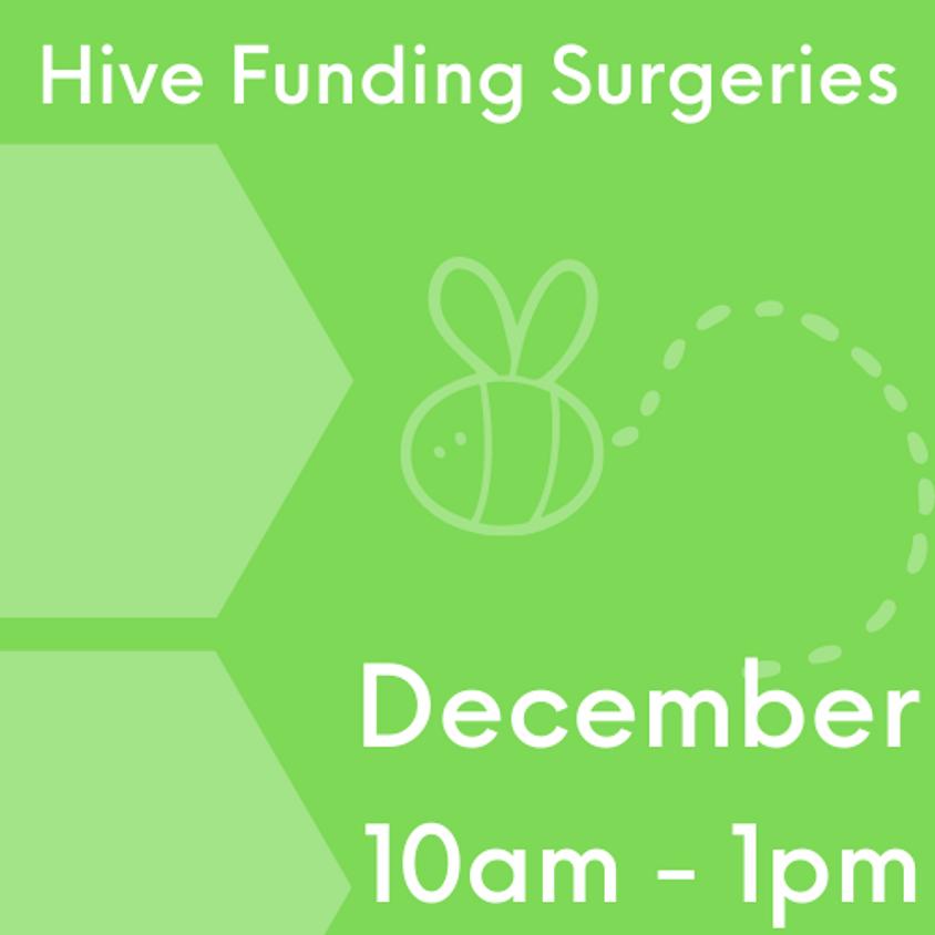 Hive Funding Surgeries