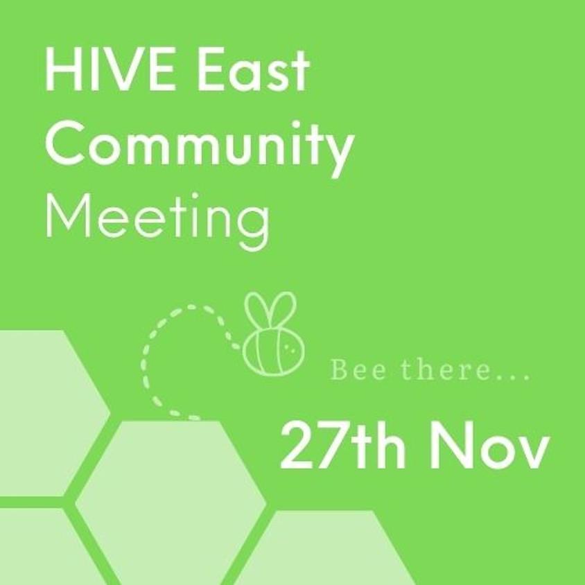 VCSE HIVE EAST Community Meeting