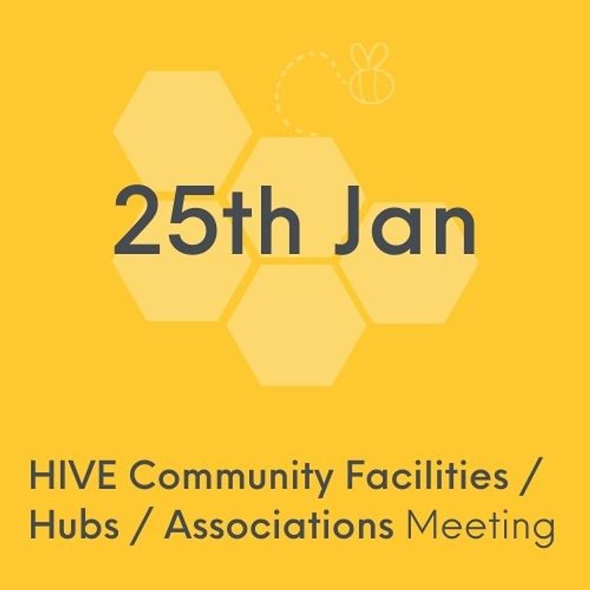 VCSE HIVE Community Facilities/Hubs/ Support Associations