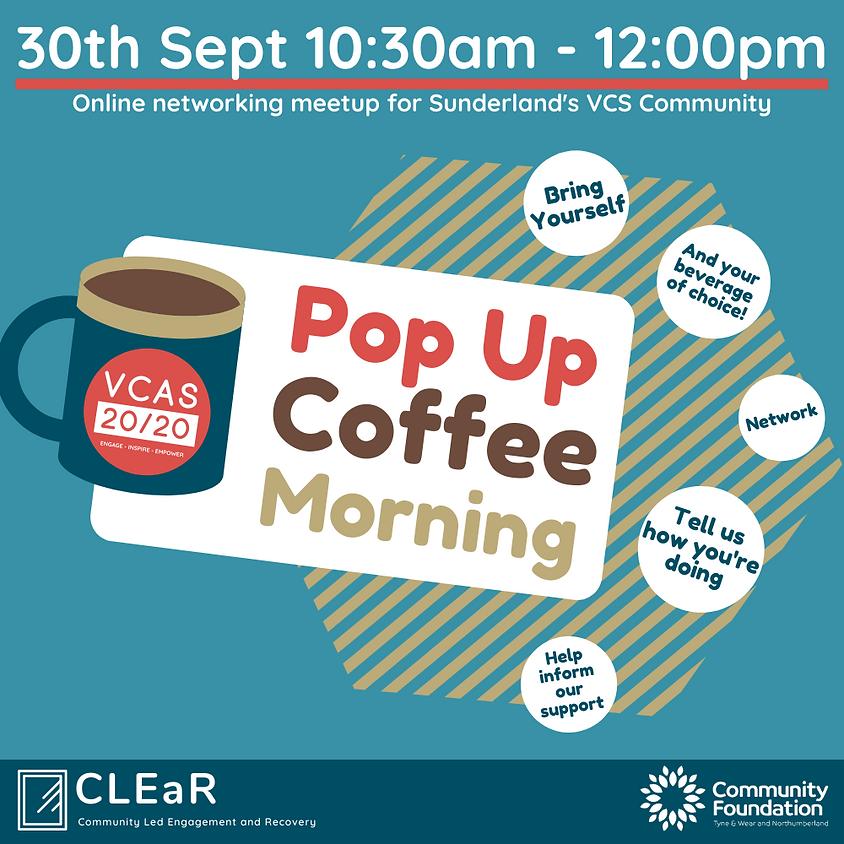 VCAS September Pop Up Coffee Morning