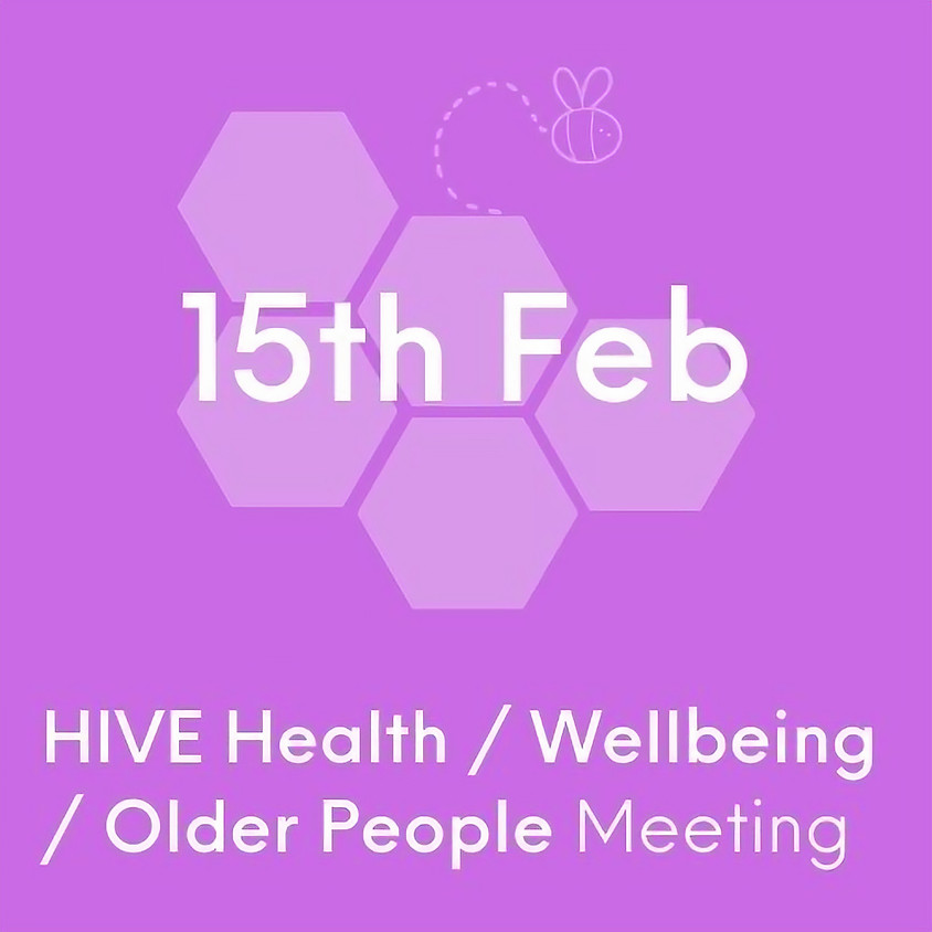 VCSE HIVE Health, Well-being and Older People Network