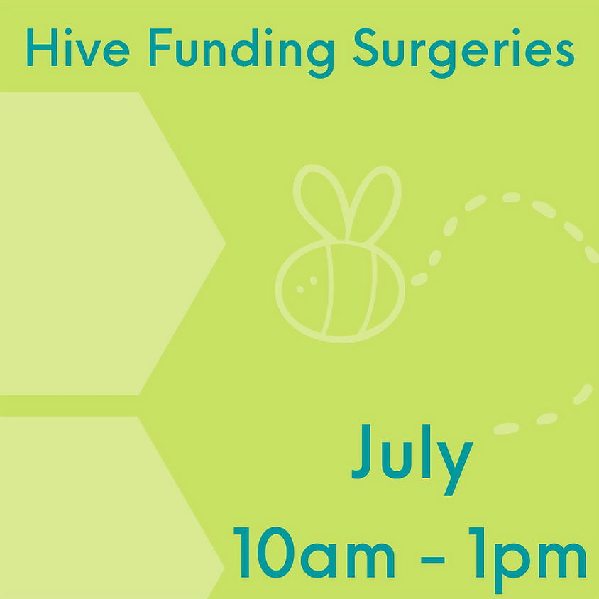Hive Funding Surgery July 8th