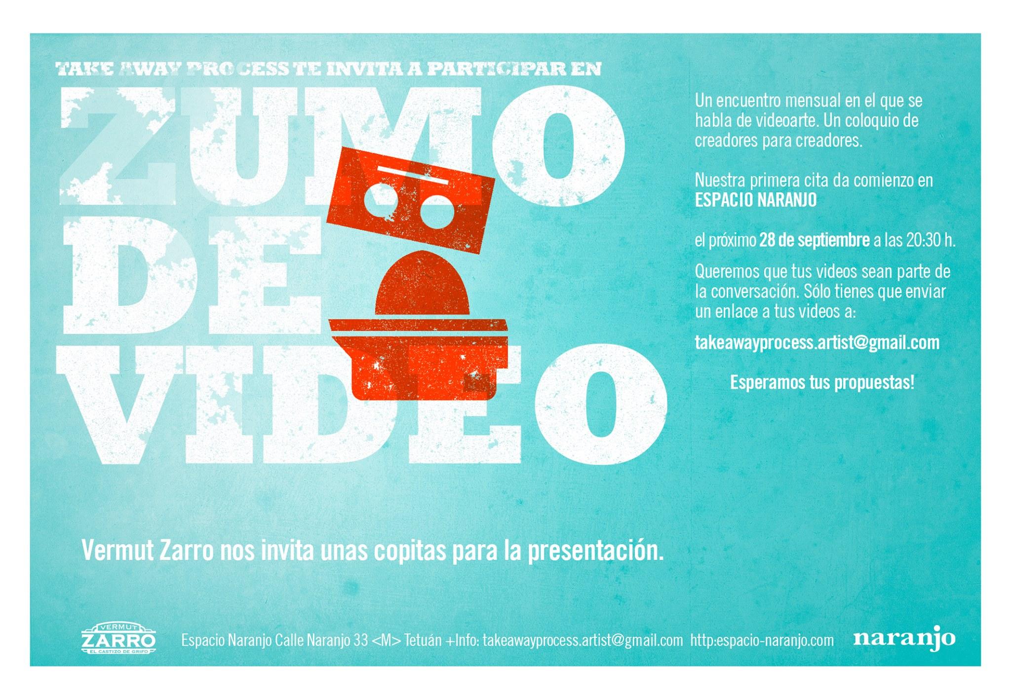 ZUMO DE VÍDEO/ESPACIO NARANJO