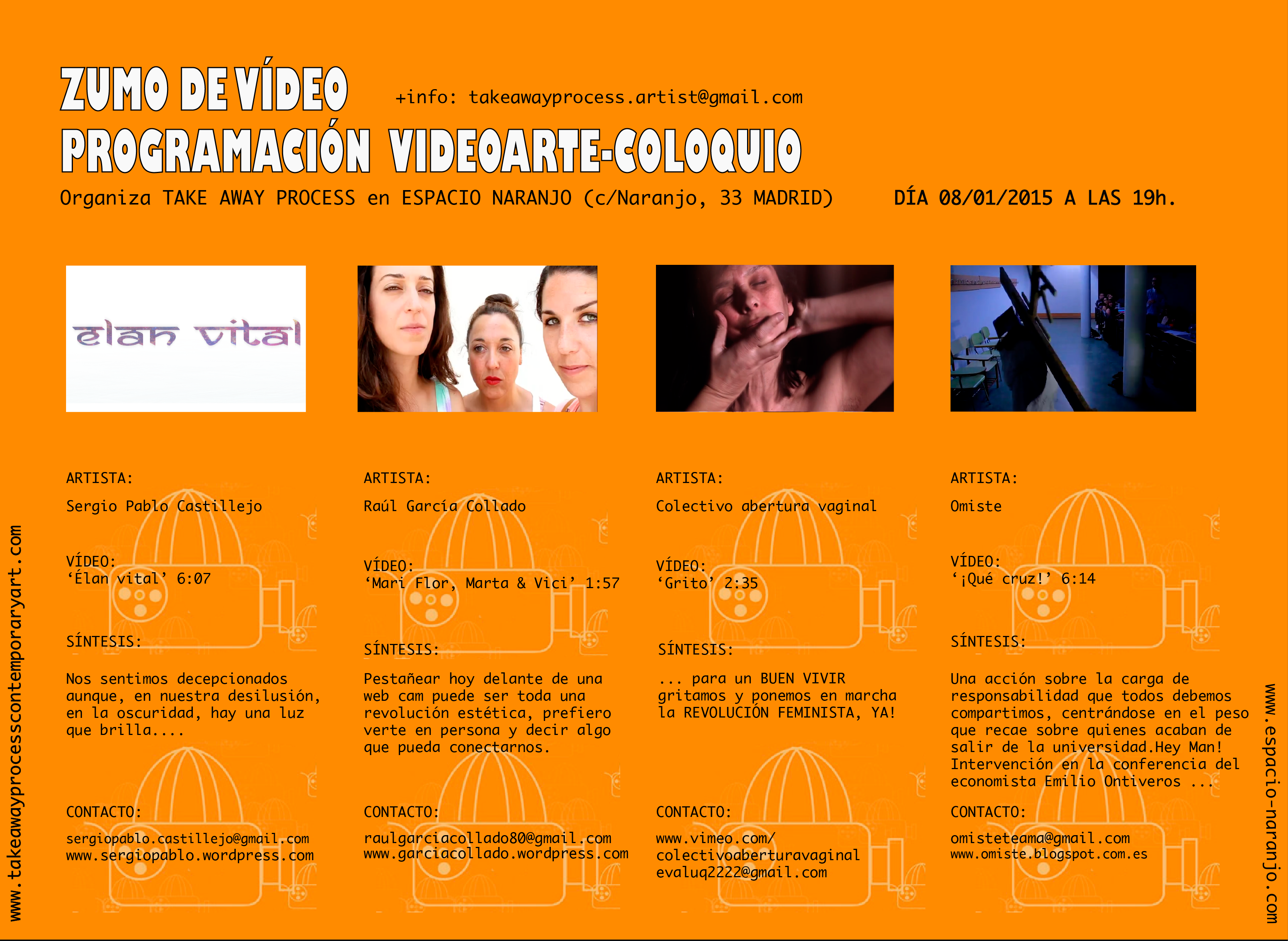 4ª EDICIÓN ZUMO DE VÍDEO