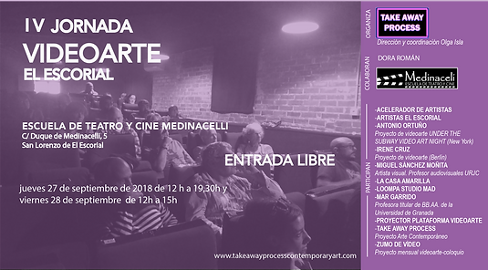 IV jornada videoarte El Escorial_cartel_