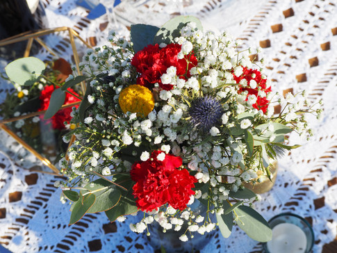Bouquet champêtre A la Française Weddings