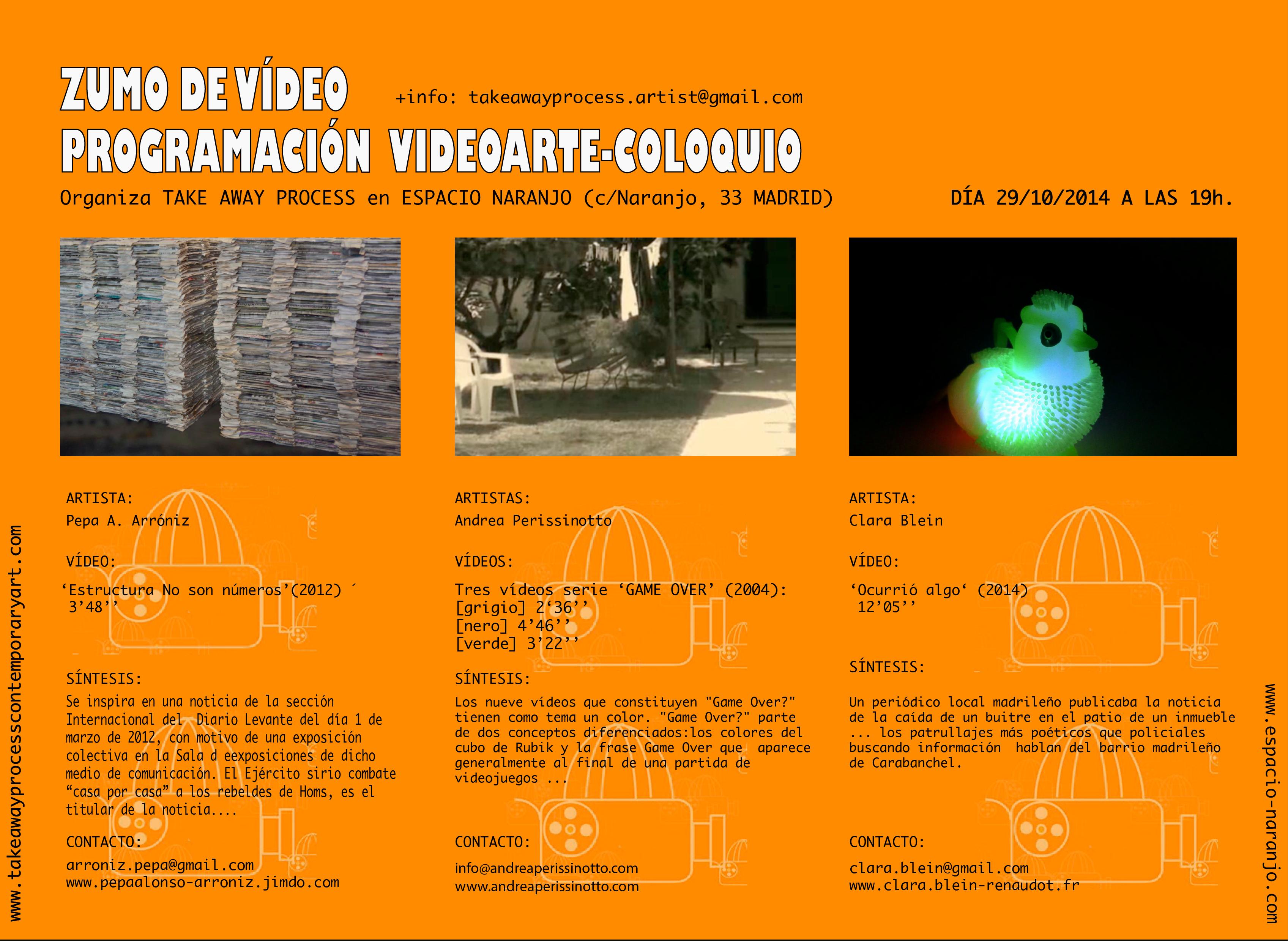 2ª EDICIÓN ZUMO DE VÍDEO