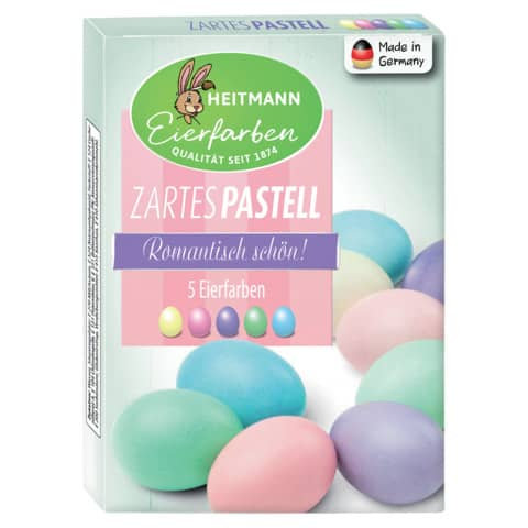 Eierfarben zartes Pastell Heitmann