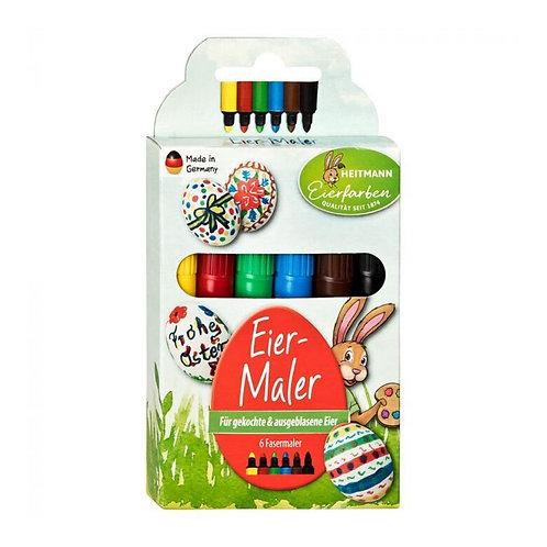 Pennarelli per colorare peruova di pasqua Heitmann