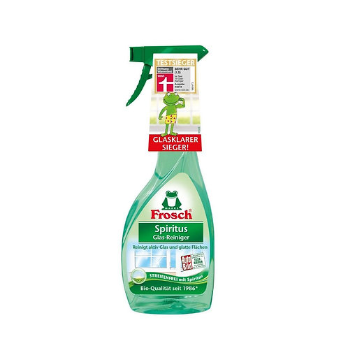spray detergente per superfici e vetri a base di alcol Frosch