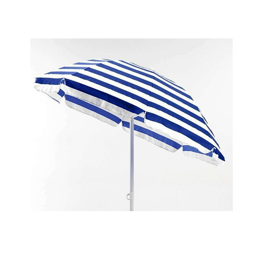 ombrellone a righe bianco - blu
