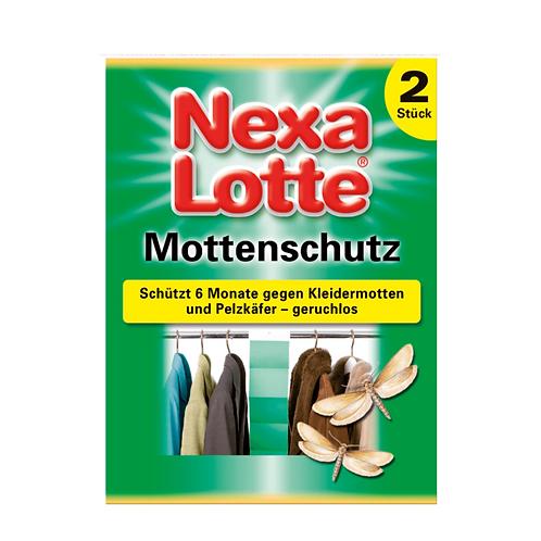 Nexalotte Mottenpapier 2x10 Stück geruchlos
