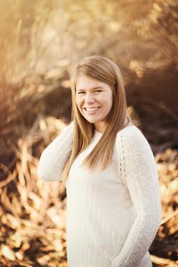 senior girl in the woods.jpg