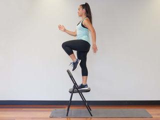 Chair Step Up Singe Leg