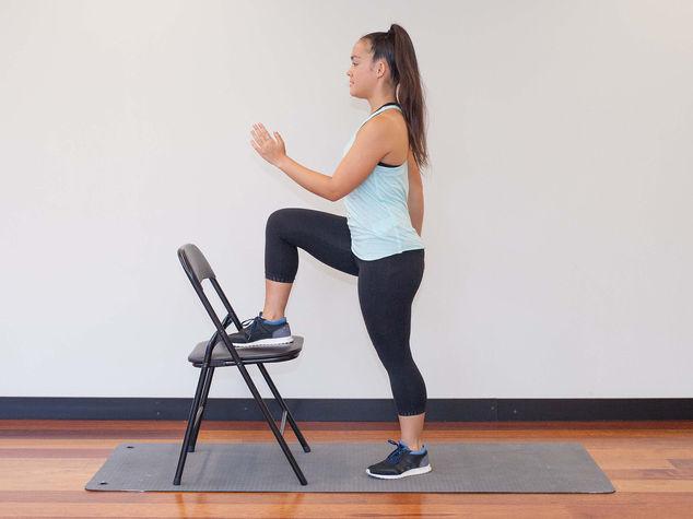 Chair Step Ups