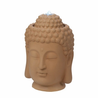 The Peaceful Presence Of This Buddha Head Tabletop Fountain Will Add A  Zen Like Calm To Your Room. Made From Ceramic, The Soothing Sound And Sight  Of Water ...
